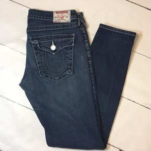 True religion skinny jeans size 30